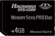 メモリースティックPRO Duo for GAME 4GB