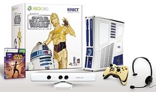 Xbox360 320GB Kinect スター・ウォーズ <リミテッド エディション>(5XK00014)