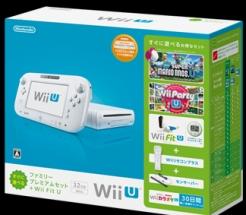 WiiU すぐに遊べるファミリープレミアムセット+Wii Fit U:シロ(WUPSWAFT)