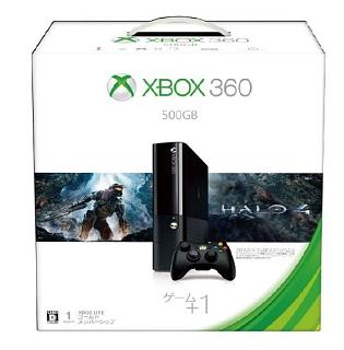 Xbox360 500GB バリューパック (Halo 4 同梱版)(3M400018)