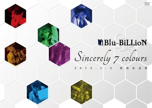 「Sincerely 7 colours」 2015.1.3 渋谷公会堂