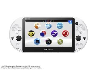 PlayStationVita Wi-Fiモデル:グレイシャー・ホワイト(PCH2000ZA22)