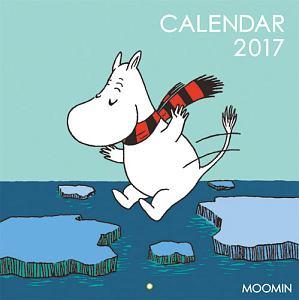 ムーミン壁掛けカレンダー(WINTER) 2017