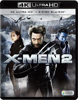 X-MEN2<4K ULTRA HD + 2Dブルーレイ>